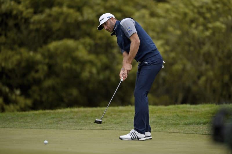 Johnson not upset after runner-up finish at PGA Championship