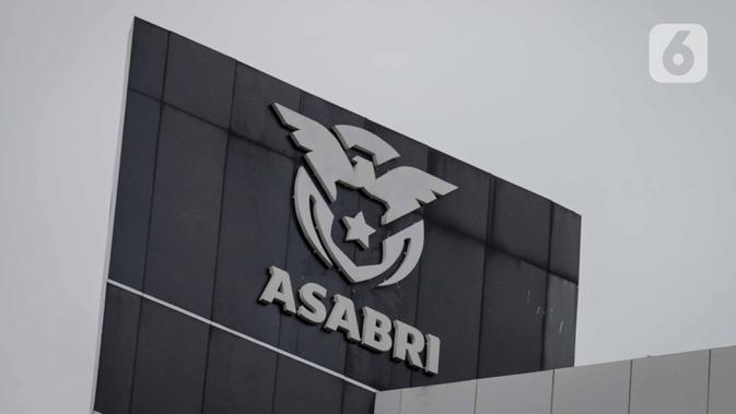PT Asuransi Sosial Angkatan Bersenjata Republik Indonesia (Persero) atau disingkat PT ASABRI (Persero). (Liputan6.com/Faizal Fanani)
