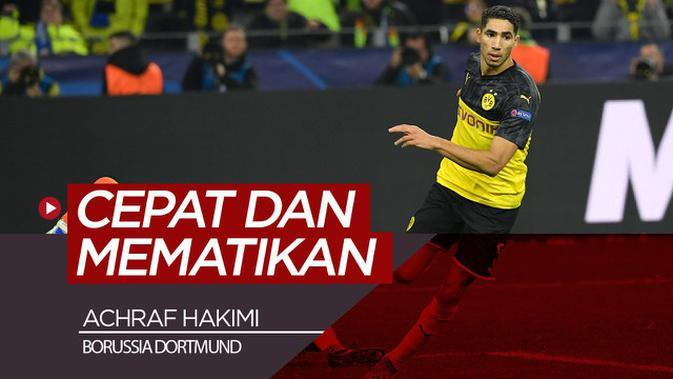 VIDEO: Pelari Cepat Mematikan Borussia Dortmund di Liga Champions