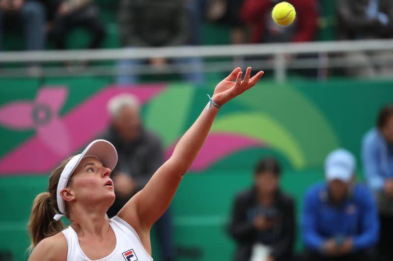 Podoroska's dream run in Paris continues