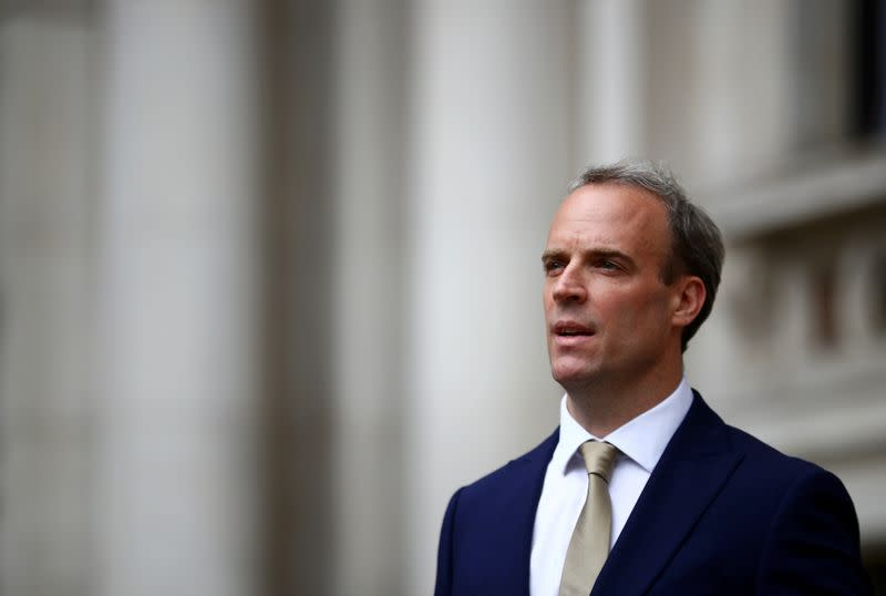 UK says China's security law is serious violation of Hong Kong treaty