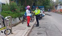 警方大埔發45傳票 檢控違規單車使用者