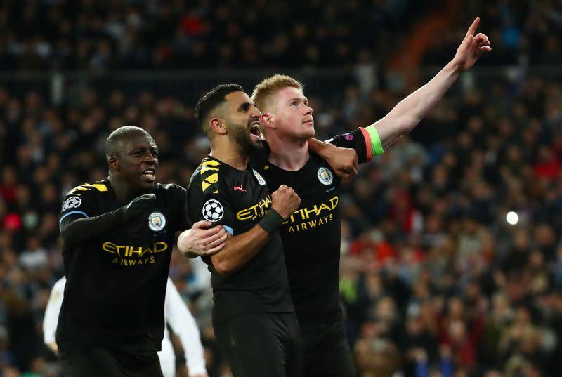 De Bruyne leads remarkable Man City comeback win in Madrid
