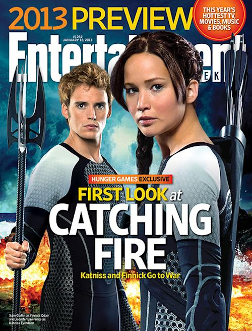 'Hunger Games' First Look: Katniss And Finnick Get Cozy In 'Catching Fire'