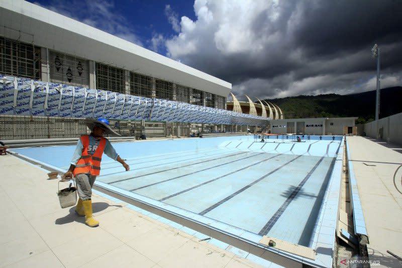 Papua habiskan dana APBD Rp3,8 triliun untuk bangun venue PON
