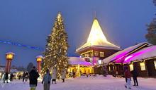 芬蘭羅瓦涅米的聖誕快樂