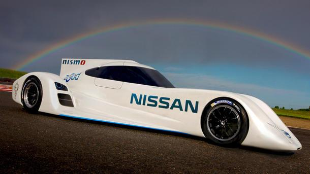 Nissan unveils 186-mph electric Le Mans race car