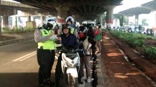 Hari Terakhir Operasi Patuh Jaya, Sepeda Motor Dominasi Pelanggaran