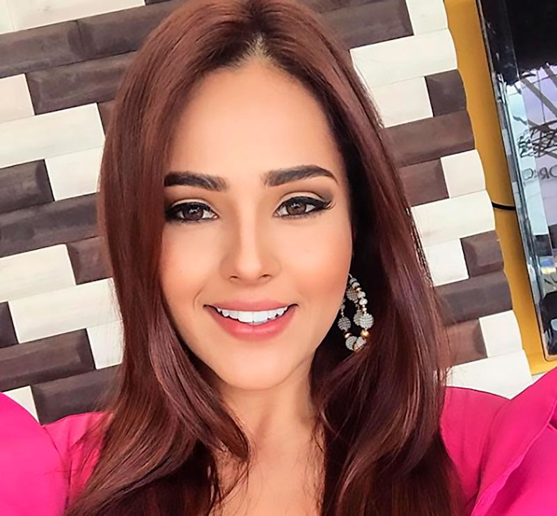 Model Juliana Diaz Rueda was named Miss Santander and was expected to represent her region at the next Miss Colombia contest but has given up her crown claiming she's online suffered abuse. Source: CEN/Australscope