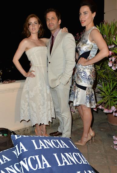 Celebrities At The Lancia Cafe - Day 1 - Taormina Filmfest 2013