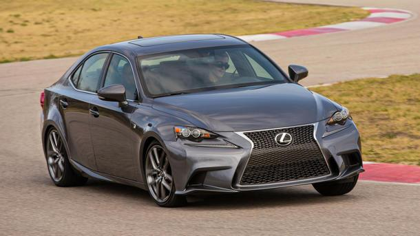 2014 Lexus IS, dueling with the Germans: Motoramic Drives