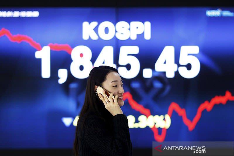 Saham Korea Selatan jatuh dipicu ketakutan terhadap COVID-19