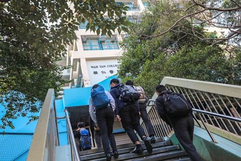 There have been previous incidents at Wah Yan colleges sparking constitutional controversy. Photo: Felix Wong