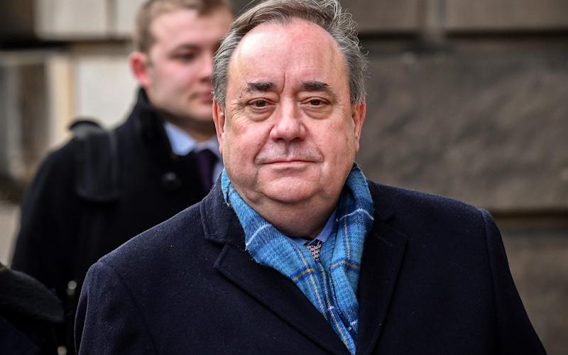 Alex Salmond was cleared at the High Court in Edinburgh - Getty Images Europe