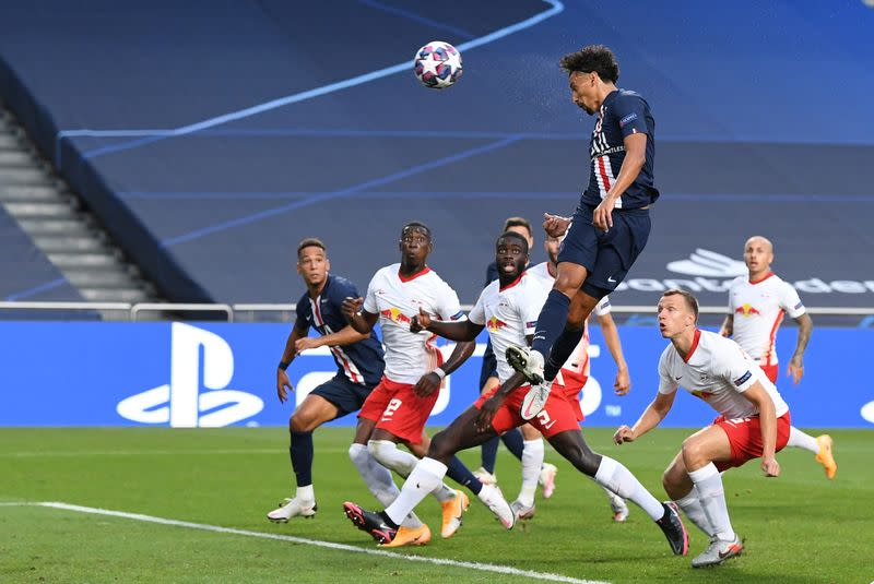 PSG reach first Champions League final with win over Leipzig