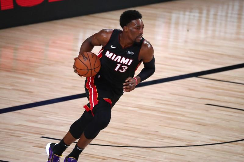 Heat's Adebayo (neck), Dragic (foot) ruled out for Game 3
