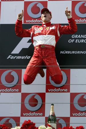 October 4: Michael Schumacher, F1′s winningest driver, retired on this date in 2012