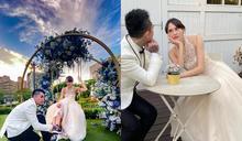 混血女模穿婚紗跟謝和弦拍MV 網友勸「慎選工作呀」