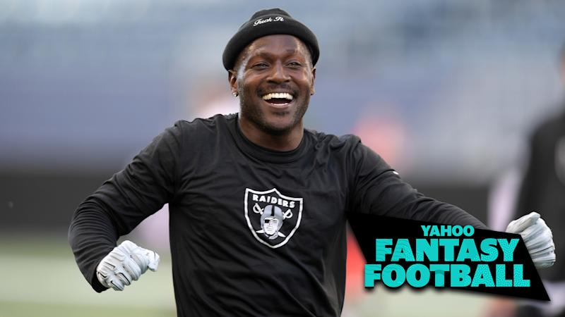 Liz Loza & Matt Harmon discuss Antonio Brown's recent antics which may have earned him a suspension on the latest Yahoo Fantasy Football Podcast. (Photo Credit: Kirby Lee-USA TODAY Sports)
