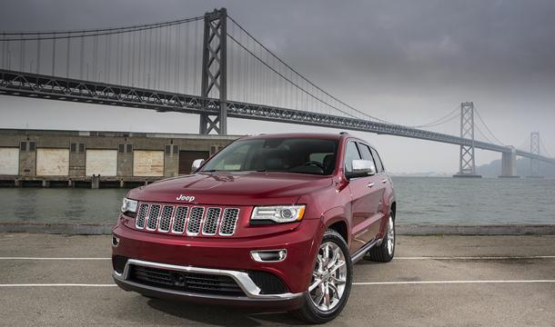 2014 Jeep Grand Cherokee EcoDiesel, the espresso shot: Motoramic Drives