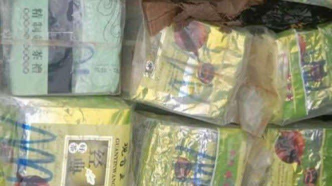 VIVA Militer: Kristal di dalam perahu butut yang ditemukan TNI.