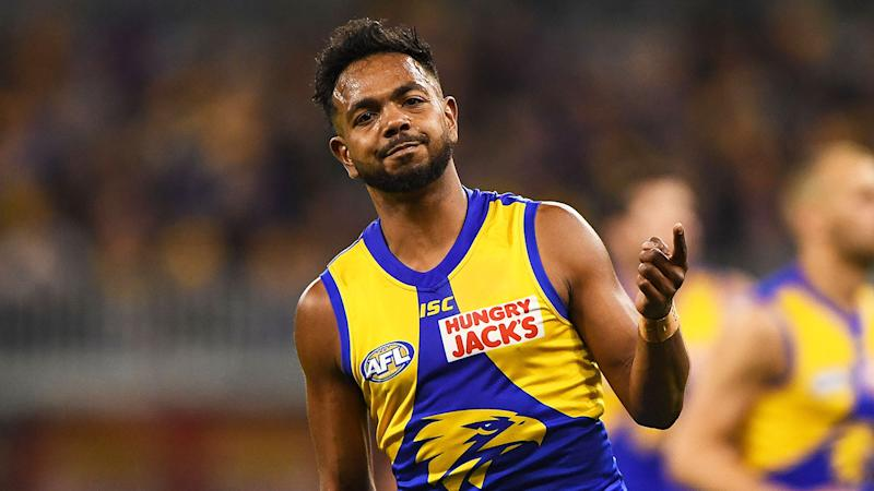 West Coast's Willie Rioli has been suspended indefinitely.