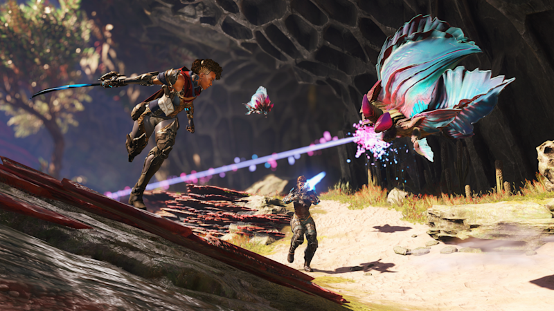 Free-to-play PC hero shooter Crucible will launch May 20 (Amazon Games)