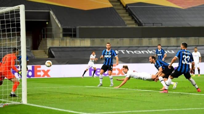 Final Liga Europa 2019/2020 antara Sevilla vs Inter Milan.