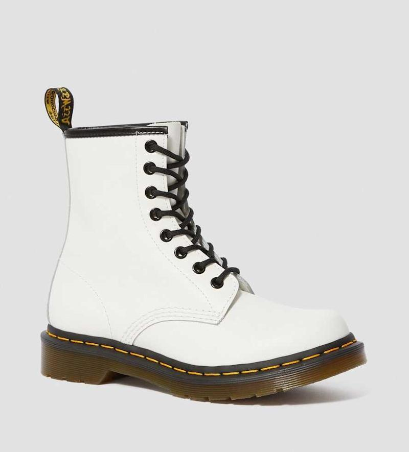 1460 Women's Smooth Leather Lace Up Boots. Image via Dr. Martens.