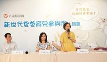 「新世代爸爸育兒參與度大調查」即使經濟壓力很大,台灣爸爸仍願意投入心力育兒