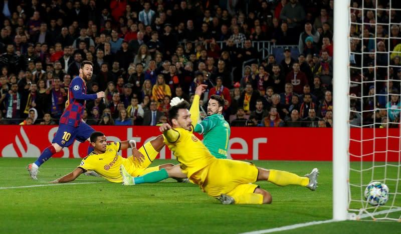 Champions League - Group F - FC Barcelona v Borussia Dortmund