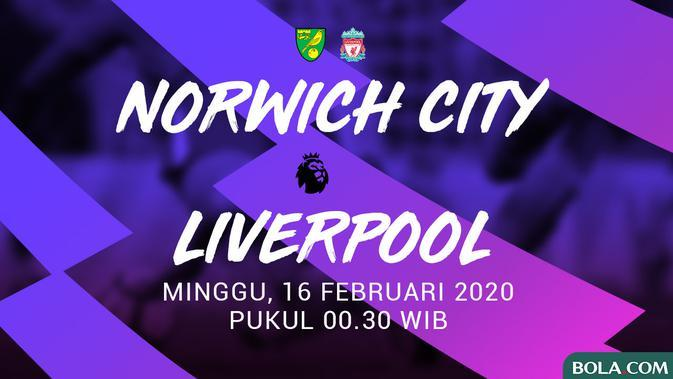 Premier League - Norwich City Vs Liverpool (Bola.com/Adreanus Titus)