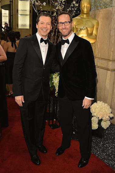85th Annual Academy Awards - Executive Arrivals: Sean Hayes and Richard Weitz