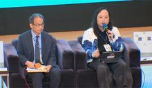 唐鳳出席研討會 民眾提問歪樓求合照
