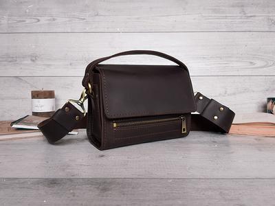 Small Crossbody Bag Shoulder Bag Leather Purse Leather Crossbody Gift For Her Crossbody Bag