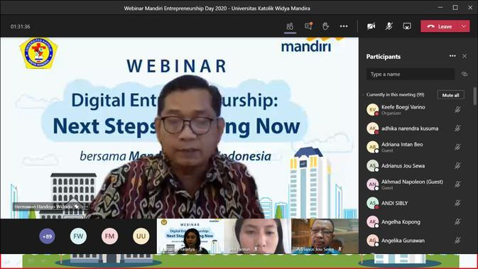 Perkuat Output Dunia Pendidikan, Mandiri Sosialisasikan Digital Entrepreneurship di Kampus