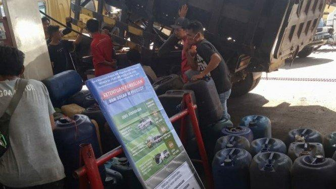 Solar Langka di Lombok, Sopir Truk Ancam Demo Pertamina Besar-besaran