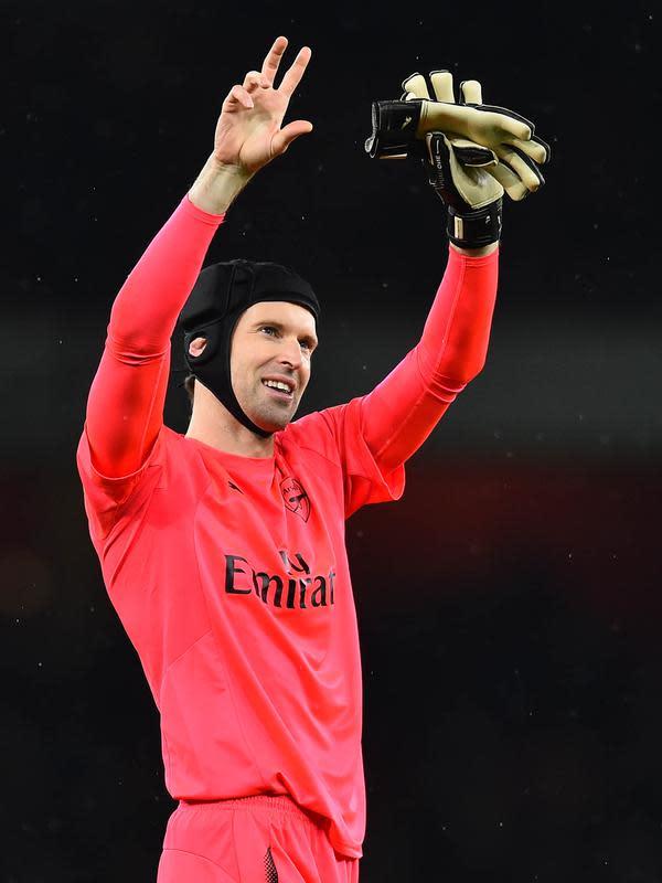 Kiper - Petr Cech. (AFP/Glyn Kirk)