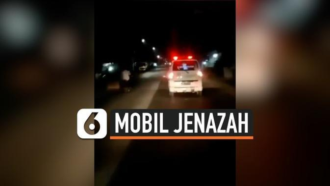 VIDEO: Rekaman Penampakan dalam Mobil Jenazah