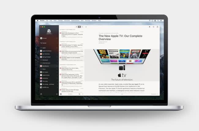 Reeder 3 Mac App
