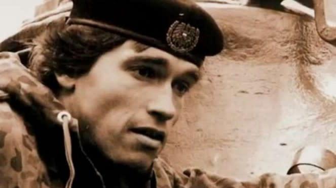 VIVA Militer: Aktor Hollywood, Arnold Schwarzenegger