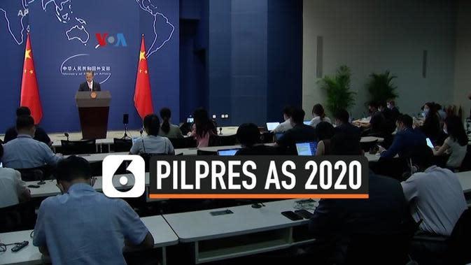 VIDEO: Adu Ketegasan Hadapi Tiongkok Jadi Isu Panas Pilpres AS