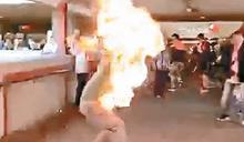 圍觀火燒人夫婦脫擾亂秩序罪 律政司提上訴