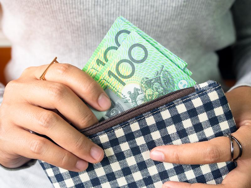 The average Aussie income pulls in about $110k. Photo: Getty Images
