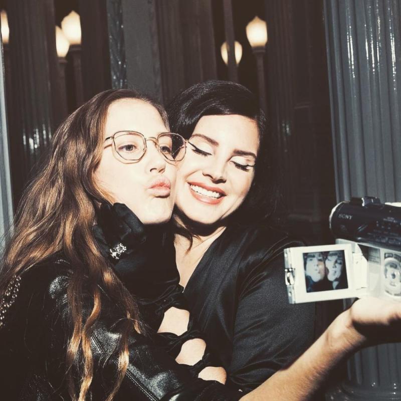 Chuck Grant and Lana Del Rey | Lana Del Rey/Instagram