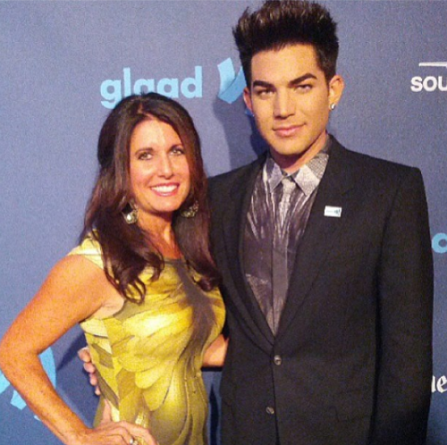 Adam Lambert Honored at GLAAD Media Awards