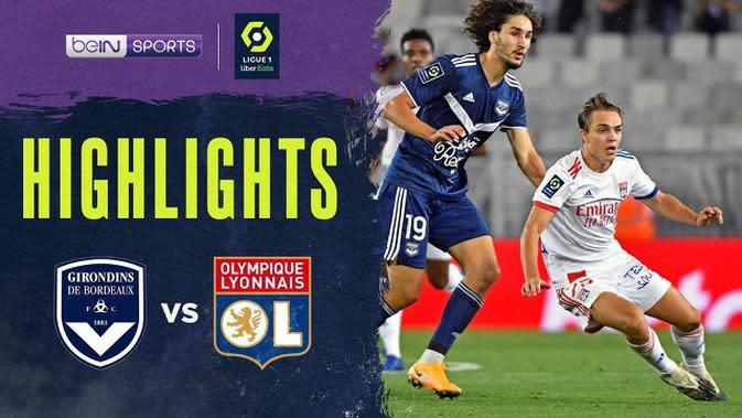 VIDEO: Highlight Liga Prancis, Lyon Ditahan Imbang Bordeaux 0-0