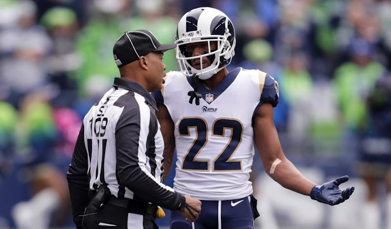 The NFL expects broader enforcement of the helmet rule that caused an uproar last preseason. (Getty)