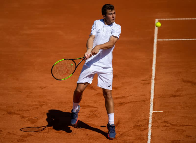 Gaston the last French man standing at Roland Garros