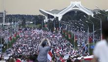 白俄總統生日 首都10萬人示威